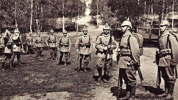 Archivbild des 12. Königlich Sächsischen Infanterie-Regiments Nr. 177