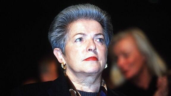Claire Marienfeld, erste weibliche Wehrbeauftragte des Deutschen Bundestages