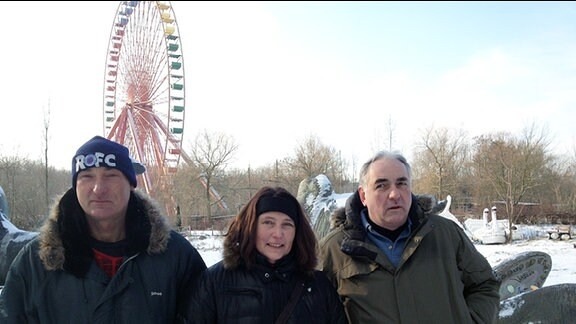 Stasikinder: Thomas Tröbner, Sabine Wötzel (geb. Tröbner), Lutz Tröbner