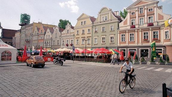 Marktplatz in Opole (Oppeln)