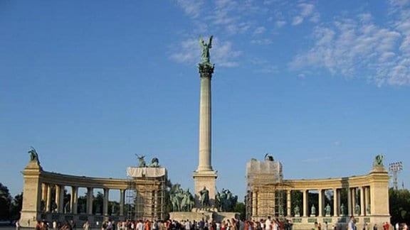 Hosok tere in Budapest