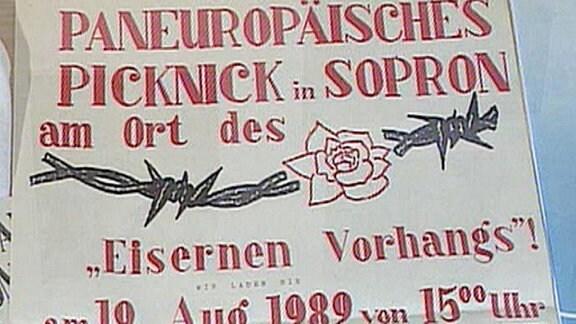 Paneuropäisches Picknick 1989