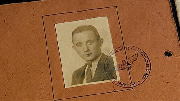 Studentenausweis Hans-Dietrich Genscher