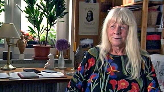 Die Schriftstellerin Gisela Kraft