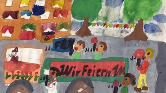 Anja, 8 Jahre: 1. Mai (1981)