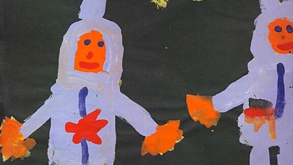 Katharina, 6 Jahre: Kosmonauten (1988)