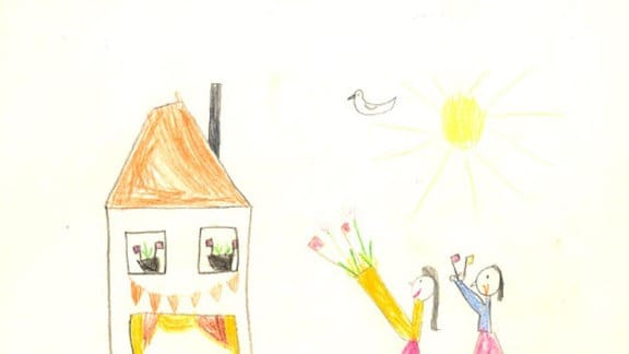 Fanny (Jahrgang 1980): 1. Mai (Kindergarten)