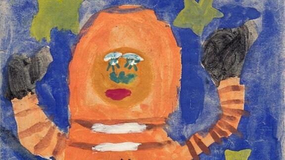 Anja, 8 Jahre: Kosmonaut (1981)