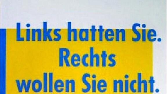 Wahlplakate der Volkskammerwahl 1990: FDP