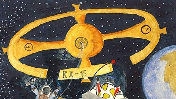 Norbert (Jahrgang 1963): Kosmonauten (Grundschule)