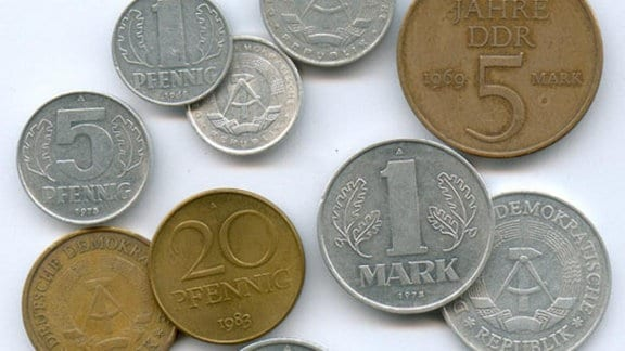DDR-Münzen