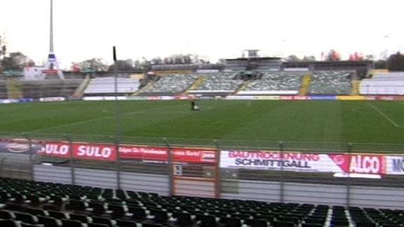 Das Dresdner Rudolf-Harbig-Stadion