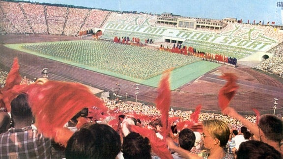 Leipziger Turn- und Sportfest 1969 im Zentralstadion