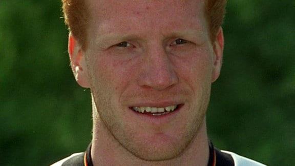 Matthias Sammer (VfB Stuttgart), geboren am 05.09.1967 in Dresden, Mittelfeldspieler, DDR-Meister 1989 und 1990, Pokalsieger der DDR 1990 (alles mit Dynamo Dresden).