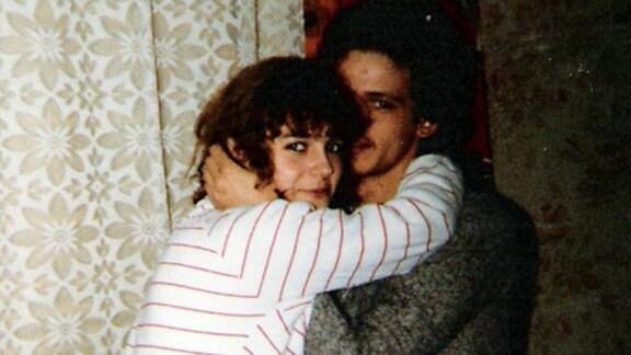 Richard Böhm und seine Freundin Yvonne im Jahr 1981