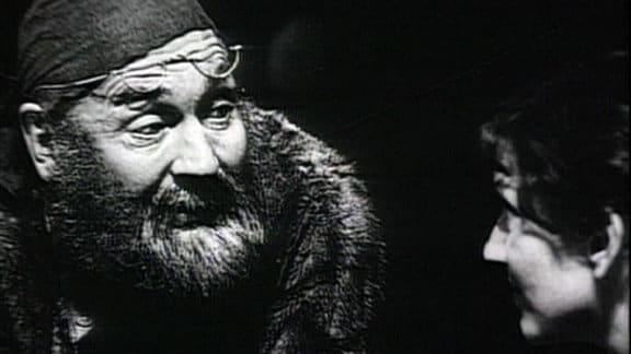 Der Schauspieler Rolf Hoppe