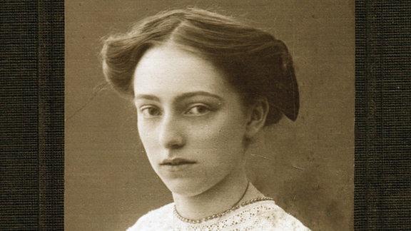 Porträt von Lene Voigt