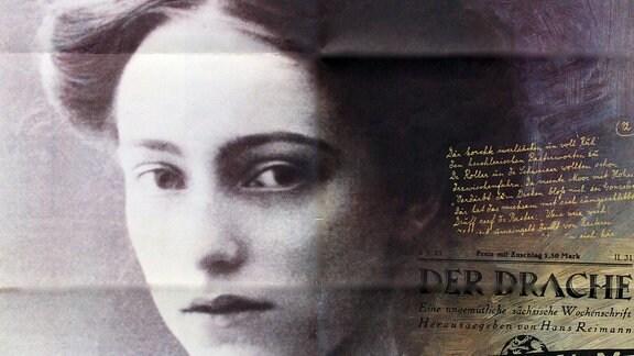Poster: Lene Voigt (1891-1962) in Leipzig