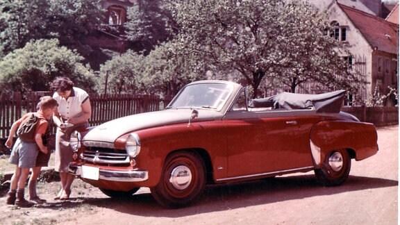 W 311-2 Kabrio - offen