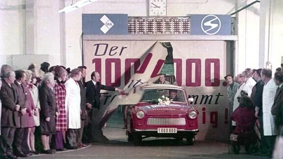 DDR auf vier Rädern: Der millionste Trabant