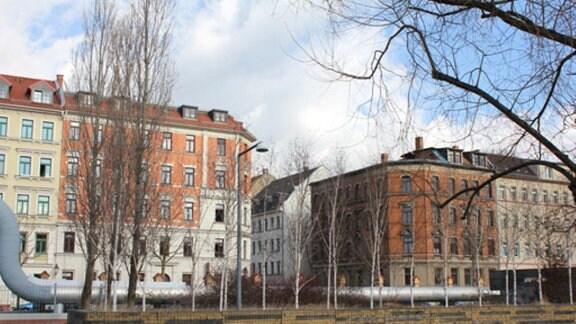 Wohnort von Lene Voigt in Leipzig