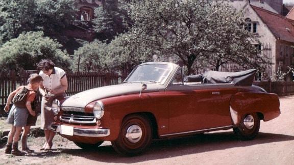 Wartburg W 311 Kabrio