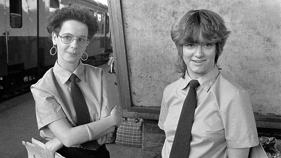 Frauen in Ost-Berlin, 1985