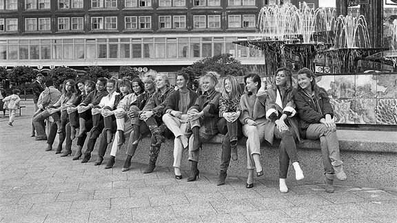 Frauen in Ost-Berlin, 1986