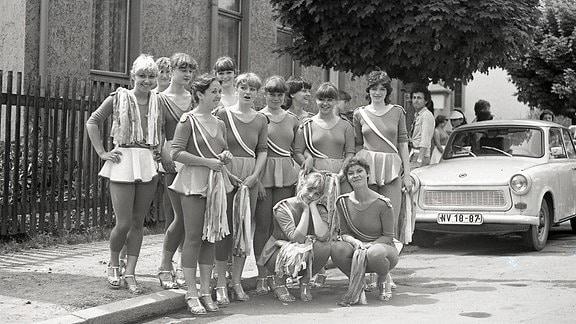 Frauentanzgruppe in den 1980er-Jahren