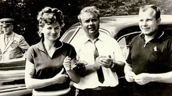Tershkowa, Vater und Jurij