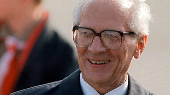 Erich Honecker, 1989