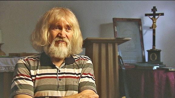 Pfarrer Karl-Heinz Dallmann im Jahr 2009