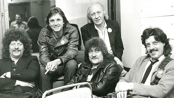 Die Puhdys, 1981 im DDR-Fernsehen