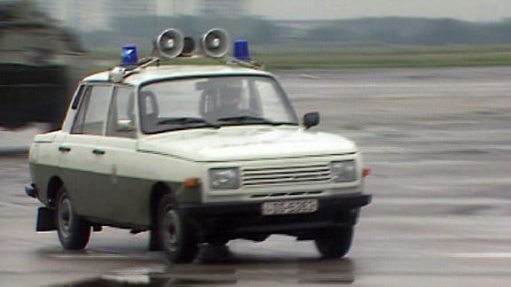 Auto der Volkspolizei