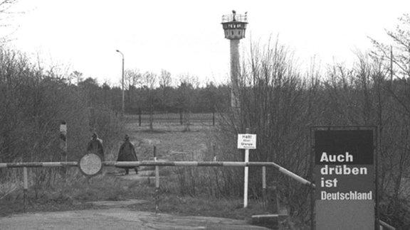 Straße zwischen Eichholz nahe Lübeck und Herrnburg 1984/2013