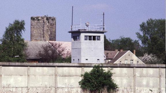 Die Mauer bei Oebisfelde 1984/2013