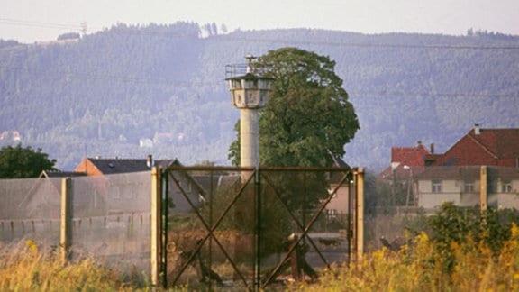 Verbindungsstraße zwischen Neustadt und Sonneberg 1985/2013