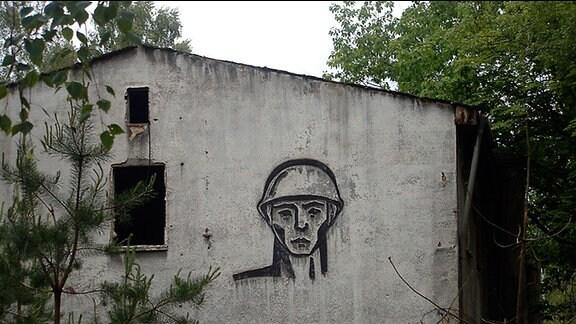 Aufnahmen von den sowjetischen Hinterlassenschaften in der Kaserne Vogelsang in Zehdenick aus dem Jahr 2010