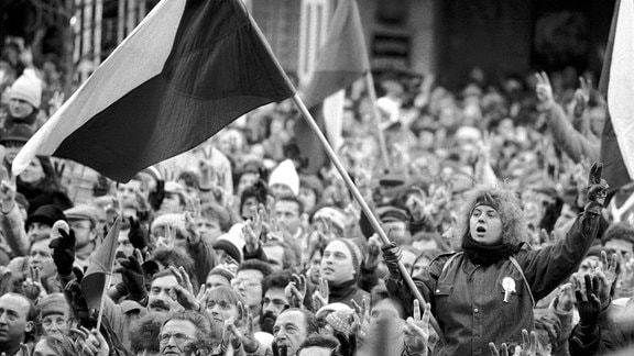Revolution Prag 1989