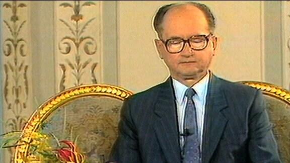 KP-Chef Witold Jaruzelski