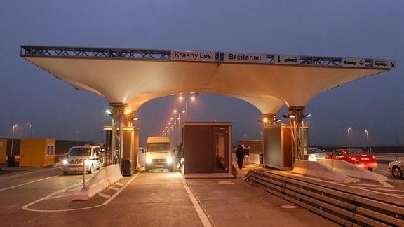 Eröffnung des neuen Grenzübergangs Breitenau – Krasny Les auf der neuen E55, 2006