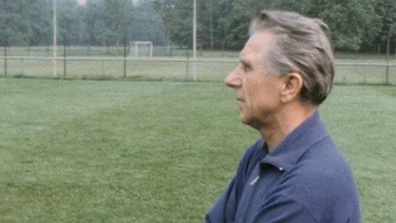Dynamo Dresden Trainer Walter Fritzsch