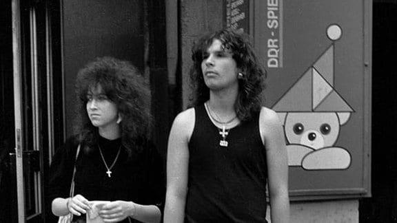 Jugendliche 1985 in Leipzig