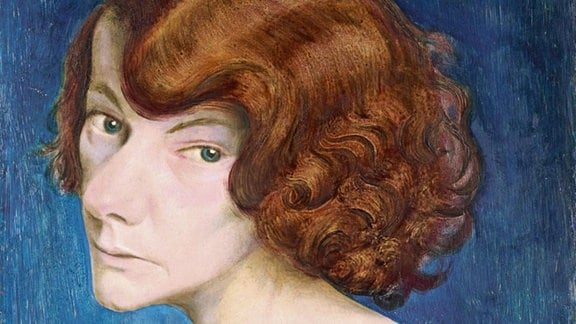 Otto Dix - Rothaarige Frau, 1931