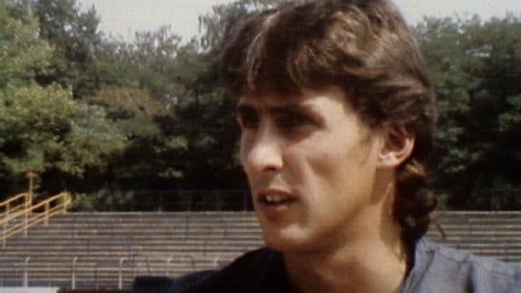 Fußballbilder aus dem Tv der DDR