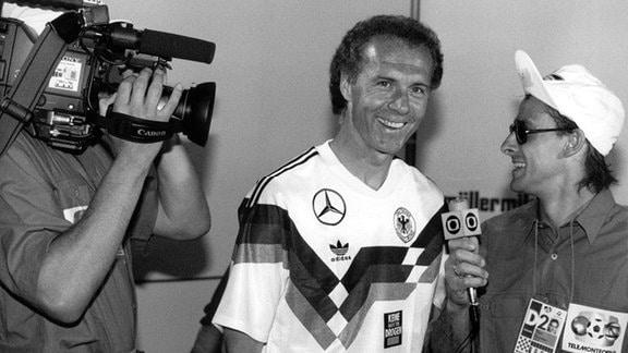 Franz Beckenbauer im Interview