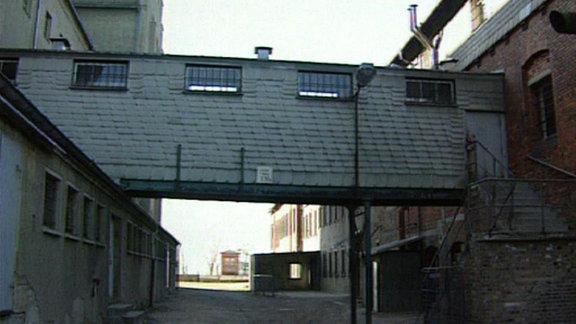 Ein Industriegebäude