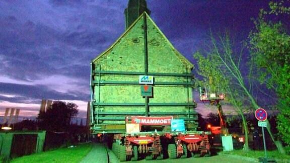 Heuersdorf - eine Kirche zieht um