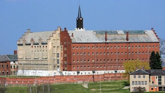 Das ehemalige Frauengefängnis Hoheneck bei Stollberg