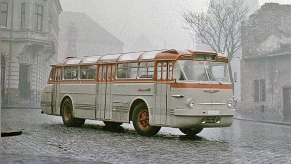 Werksfoto der ersten in die DDR gelieferten Serie, um 1958